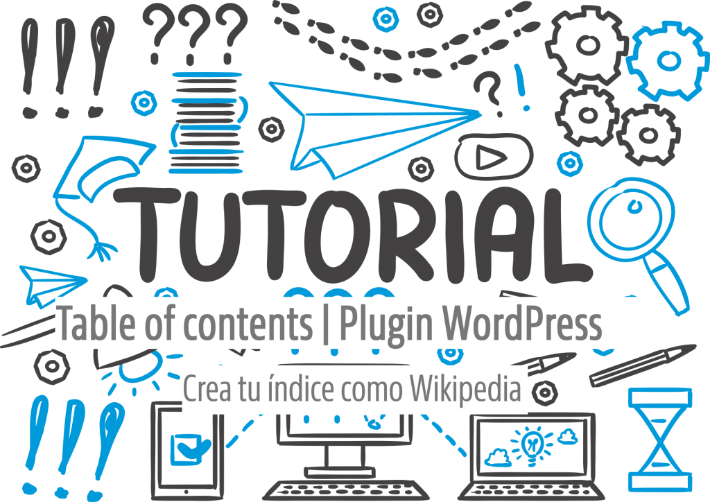Guía table of contents plugin Wordpress